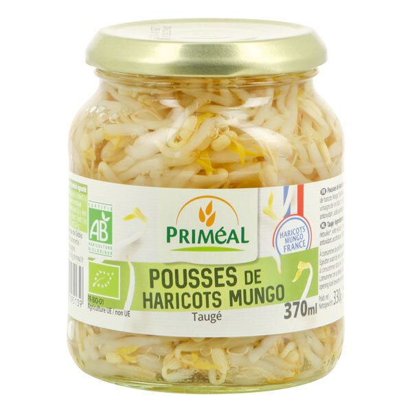 Priméal - Pousses de haricots mungo origine France 370ml