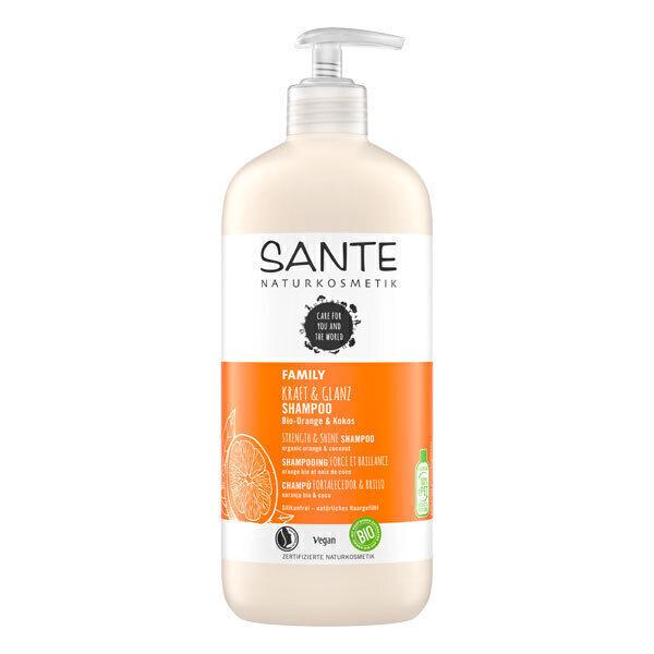 Santé - Shampoing Force et Brillance orange et coco 500ml