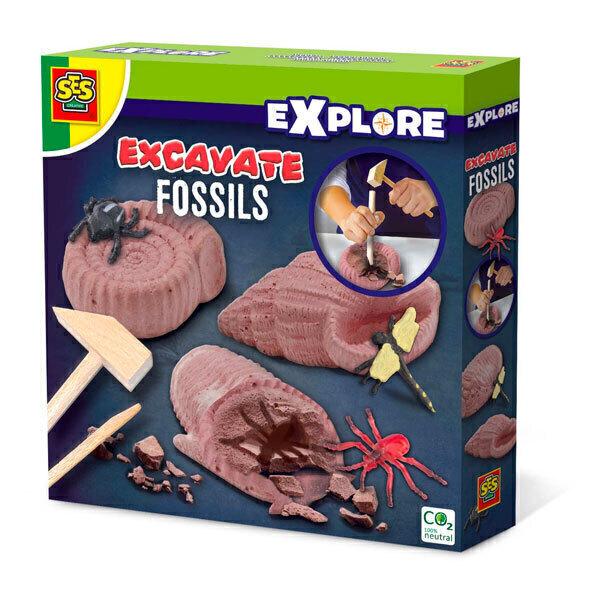 SES Creative - Découvre des fossiles - Dès 4 ans