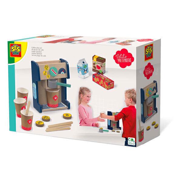 SES Creative - Kit de jeu de café - Dès 3 ans