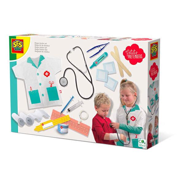 SES Creative - Méga kit de docteur - Dès 3 ans