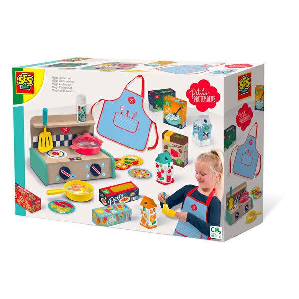 SES Creative - Méga kit de supermarché - Dès 3 ans