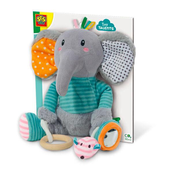 SES Creative - Olfi, l'éléphant sensoriel - Dès 3 mois