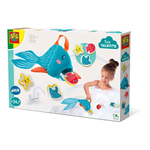 SES Creative - Poisson glouton pour le bain - Dès 2 ans