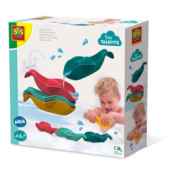 SES Creative - Poissons en banc pour le bain - Dès 6 mois