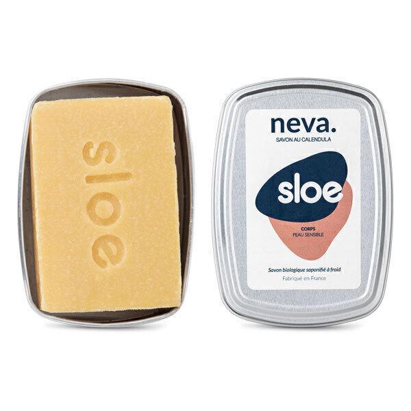 Sloe - Savon Neva peaux sensibles avec boite 100g