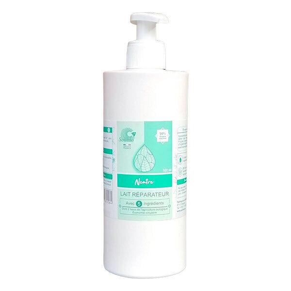 Solibio - Lait réparateur neutre 4 ingrédients 50cl