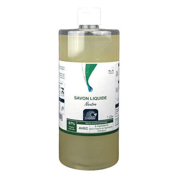 Solibio - Savon neutre 5 ingrédients 1L