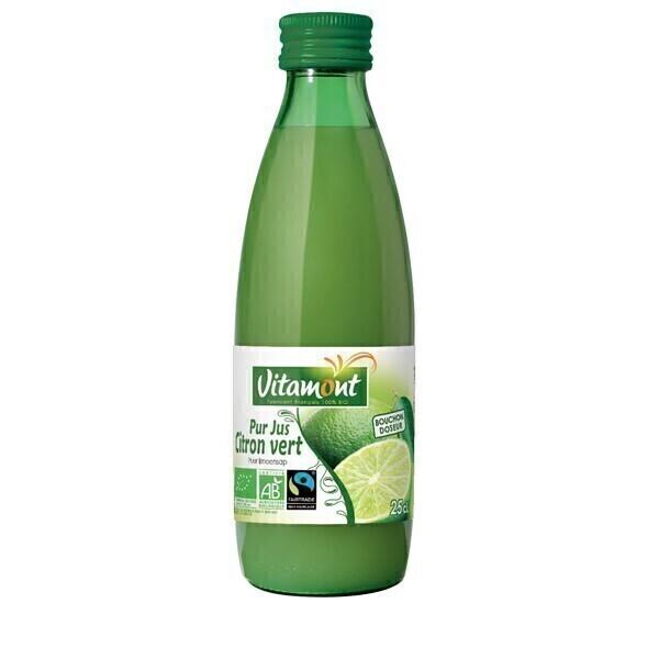 Vitamont - Pur jus de citron vert 25cl