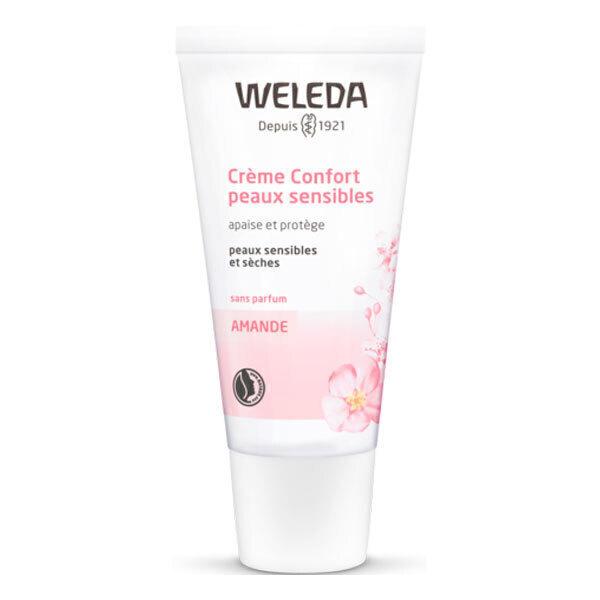 Weleda - Crème confort peaux sensibles à l'amande 30ml