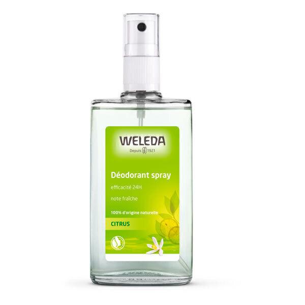 Weleda - Déodorant spray Citrus efficacité 24H 100ml
