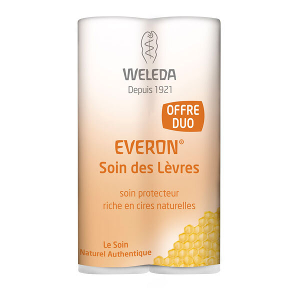 Weleda - Duo Soin des lèvres Everon 2x4,8g