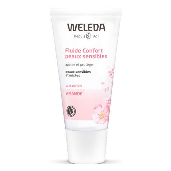 Weleda - Fluide confort peaux sensibles à l'amande 30ml