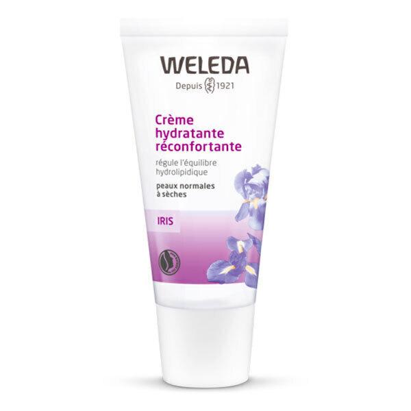 Weleda - Crème hydratante réconfortante Iris 30ml
