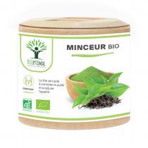 Bioptimal - Minceur Bio - Thé vert Guarana - Perte Poids - 60 gélules