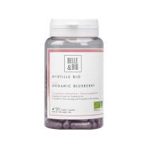 Belle & Bio - Myrtille Bio - 120 Comprimés - Certifié AB par Ecocert