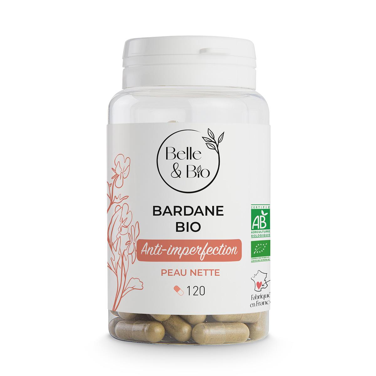 Belle & Bio - Bardane Bio - Beaute - 120 Gelules - Certifie AB par Ecocert