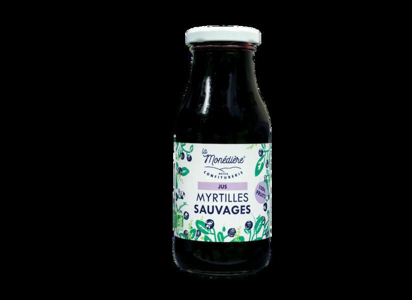 La Monédière - Jus 100% Myrtilles Sauvages 250cl