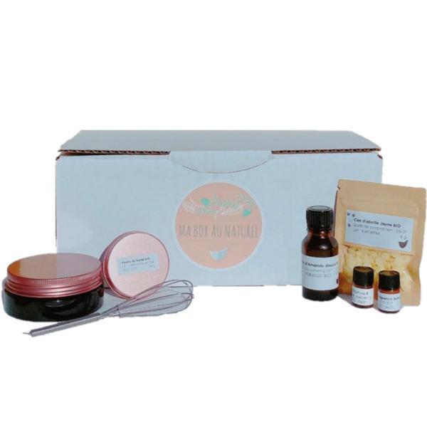 Ma box au naturel - Box DIY - Baume à lèvres 30g  BIO