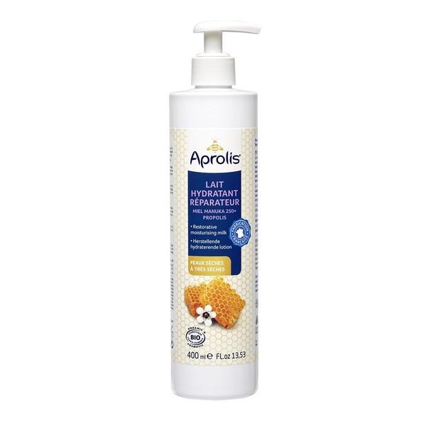 Aprolis - Lait Hydratant Réparateur Manuka-Propolis 400ml Bio
