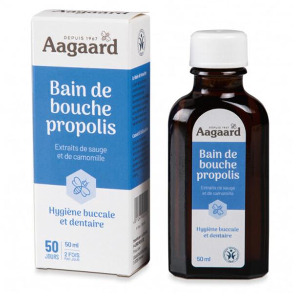 Aagaard Propolis - Bain de bouche propolis - 50 ml