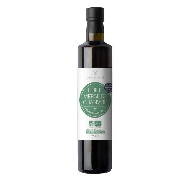 Vegetool - Huile vierge de Chanvre biologique (250 ml)