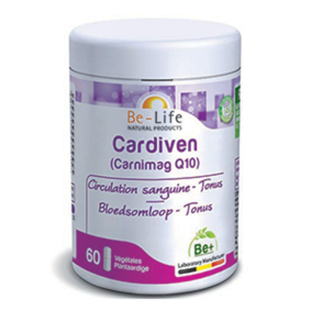 Be-Life - Cardiven - Carnimag Q10 60 gélules