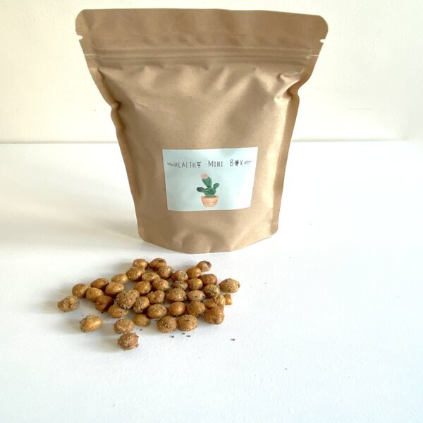 Healthy mini box - Snack de pois chiches, cumin et pavot bio 100 gr