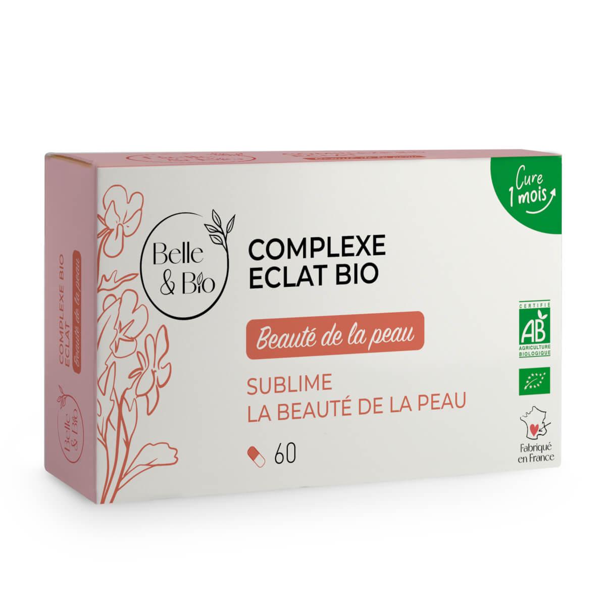 Belle & Bio - Complexe Eclat Bio - Action sur le teint - 60 Gelules