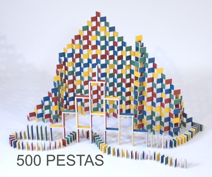Pestas - PESTAS - Boite de 500 Dominos