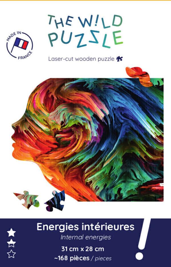 The Wild Puzzle - Puzzle en bois 168 pièces: Energies intérieures