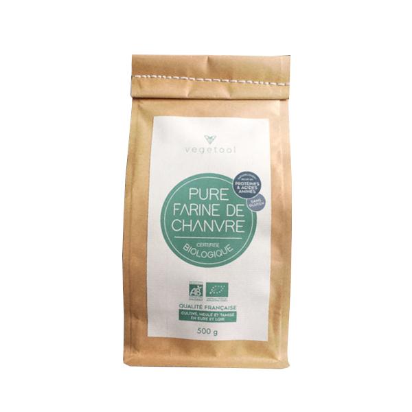 Vegetool - Farine de Chanvre biologique (500 g)