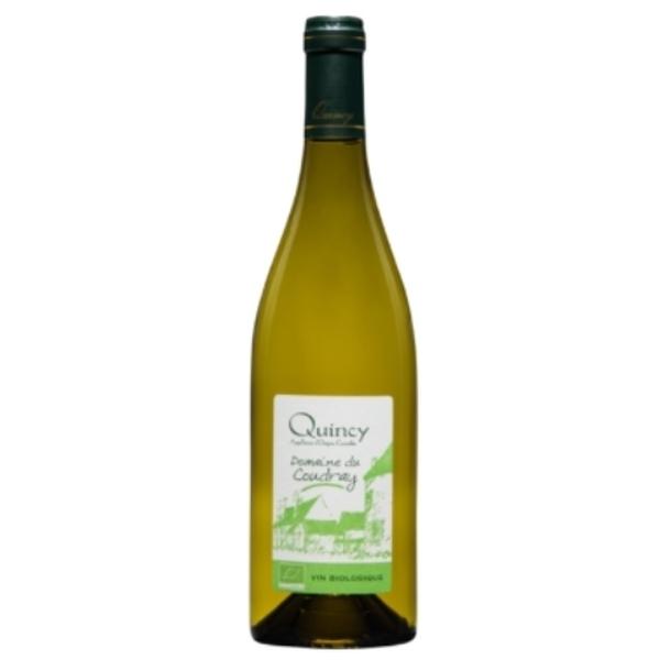 Julien Jansen et Vincent Nivet - AOC Quincy bio - Domaine du Coudray - Loire blanc 2019