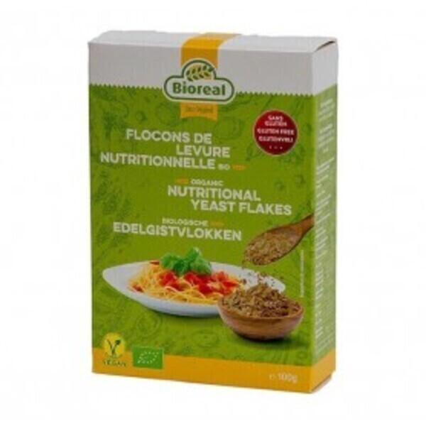 Bioréal - Flocons de levure nutritionnelle 100g Bio