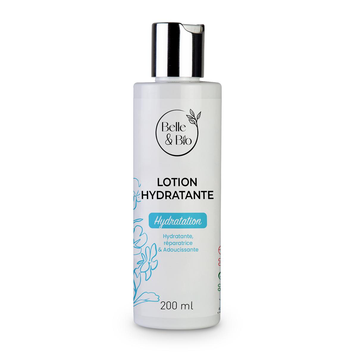 Belle & Bio - Lotion Hydratante - Soin fraîcheur - 100 ml - Certifié Cosmos pa