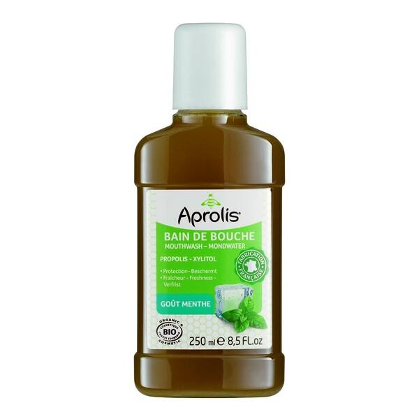 Aprolis - Bain de Bouche goût Menthe 250ml Bio