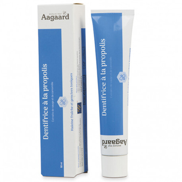 Aagaard Propolis - Dentifrice à la propolis - 50 ml