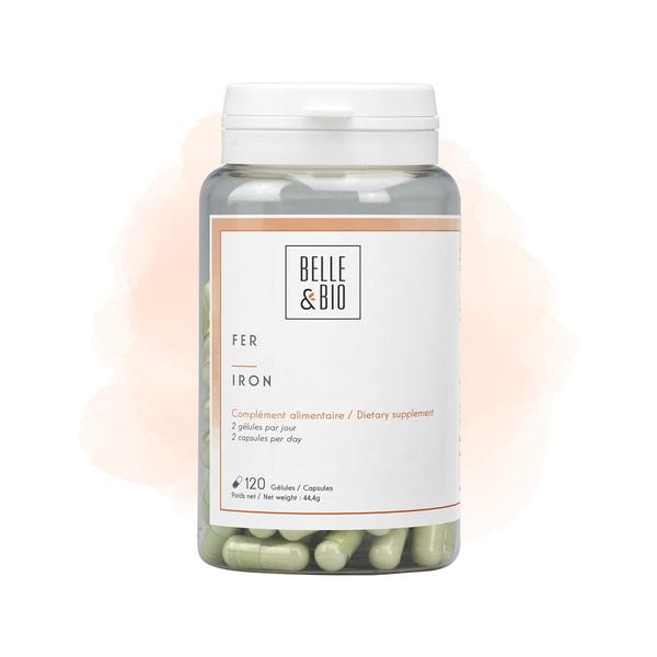 Belle & Bio - Fer - Anti-Fatigue - 120 Gélules