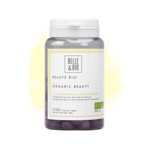 Belle & Bio - Beaute Bio - 120 Comprimes - Certifie AB par Ecocert