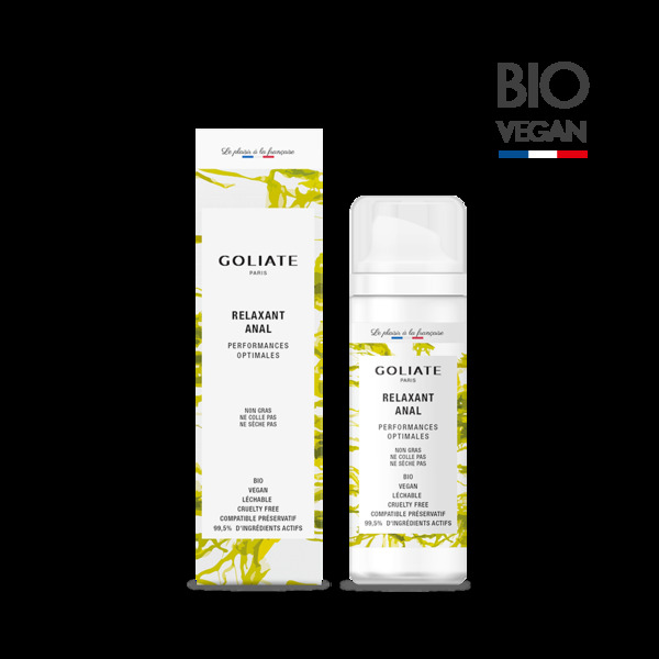 Goliate - Relaxant anal - performances optimales - 30mL