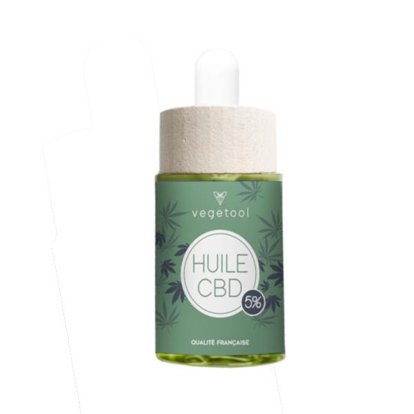 Vegetool - Huile CBD 5% (34 ml)