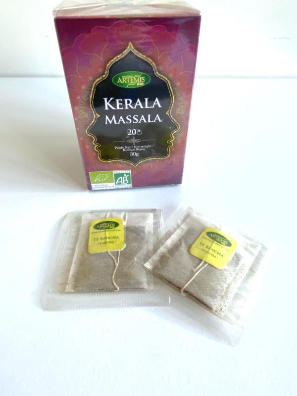 Artémis - INFUSION Kerala Massala bio aux épices – 20 x unités