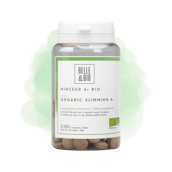 Belle & Bio - Minceur 4+ Bio - 120 Comprimes - Certifie AB par Ecocert