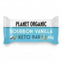 Planet Organic - Barre Keto Vanille 40g Bio