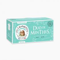 Les 2 Marmottes - Infusion Duo de Menthes (Les 2 Marmottes) - Boîte 30 Sachets