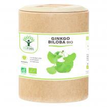 Bioptimal - Ginkgo Biloba bio - Mémoire Concentration Vertige - 200 gélules