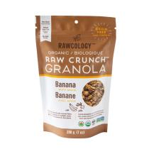 Rawcology - Granola banane maca sans sucre ajouté Rawcology - 200g