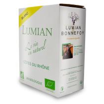 Domaine de Lumian - A.O.C Côtes du Rhône BIB 3 l blanc - Domaine de Lumian