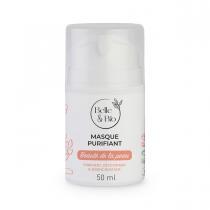 Belle & Bio - Masque Purifiant - 50 ml - Certifié Cosmos par Ecocert