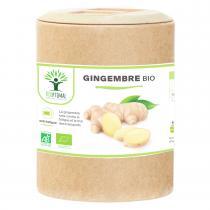 Bioptimal - Gingembre Bio - Energie Mal transports Digestion - 200 gélules
